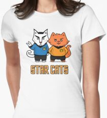 Star Cats Women's Fitted T-Shirt
