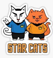 Star Cats Sticker