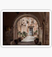 Agia Triada Monastery - Crete, Greece Sticker
