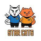 Star Cats by helenasia