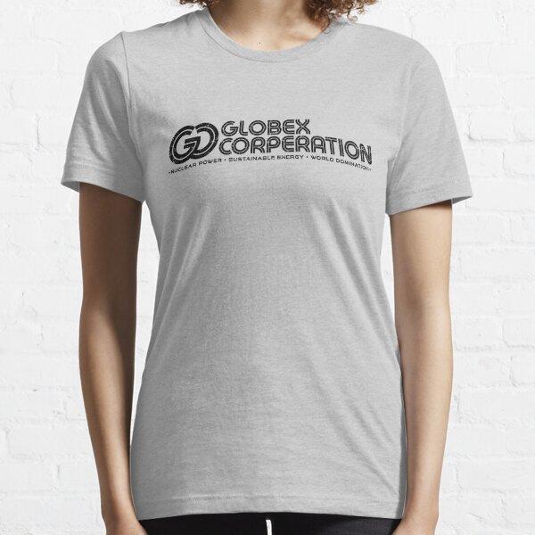 Globex Corp (GC-alt-Black) [Roufxis-Rb] Essential T-Shirt