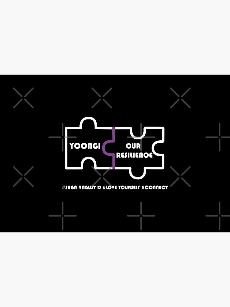 BTS #Connect Jigsaw - Suga (Yoongi) by LondonKpopSt
