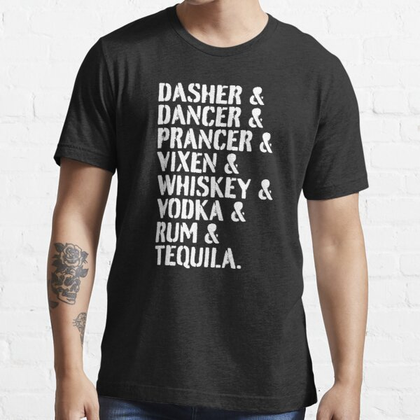 Reindeer and Alcohol List Essential T-Shirt