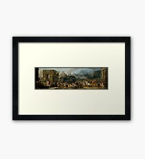 The Triumph of Aemilius Paulus by Carle (Antoine Charles Horace) Vernet Framed Print