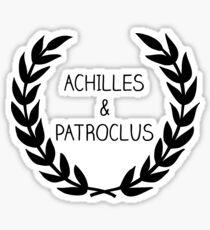 Achilles & Patroclus Sticker