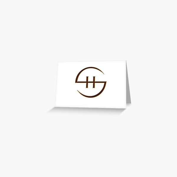 Steel Harem© Scythe Emblem Greeting Card
