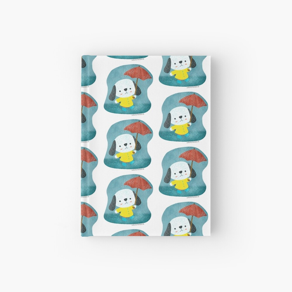 Dog in a Raincoat Hardcover Journal