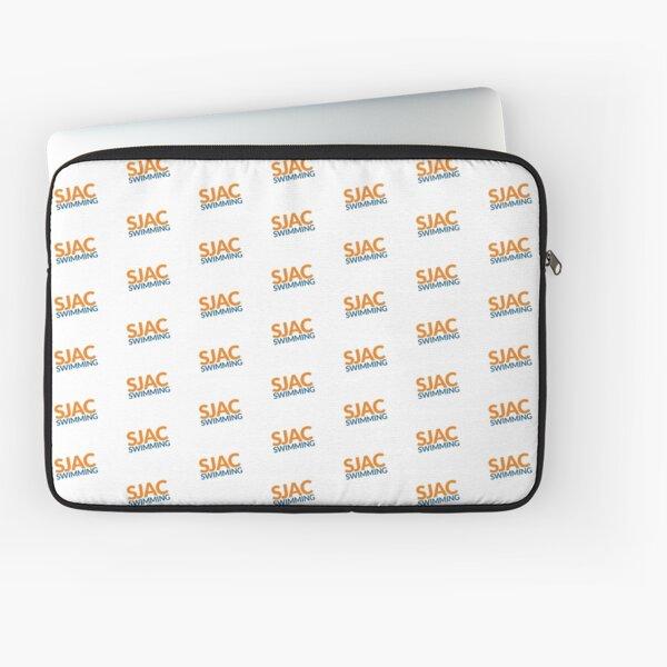 SJAC Pattern White Laptop Sleeve