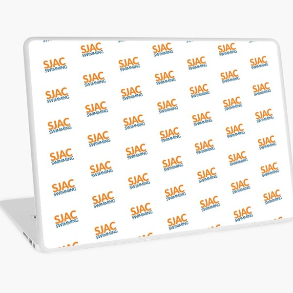 SJAC Pattern White Laptop Skin
