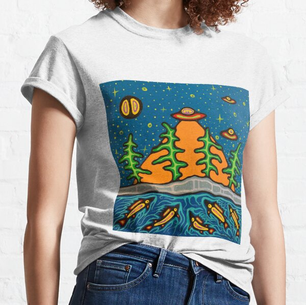 aliens and fish Classic T-Shirt