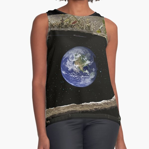The world in water Sleeveless Top
