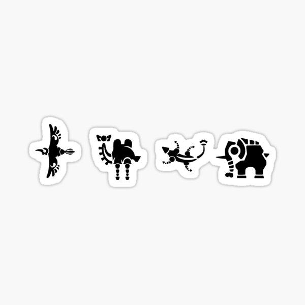 Divine Beasts  Sticker