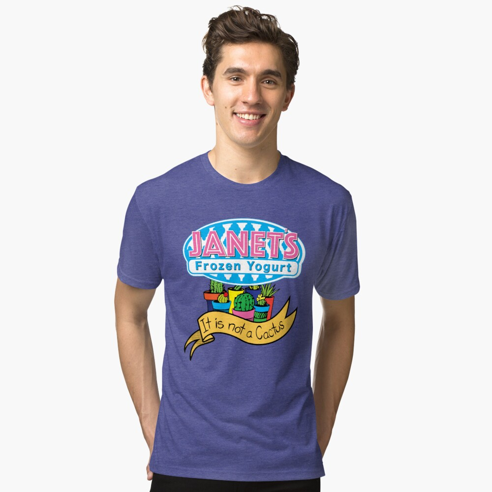 Janets Frozen Yogurt Tri-blend T-Shirt