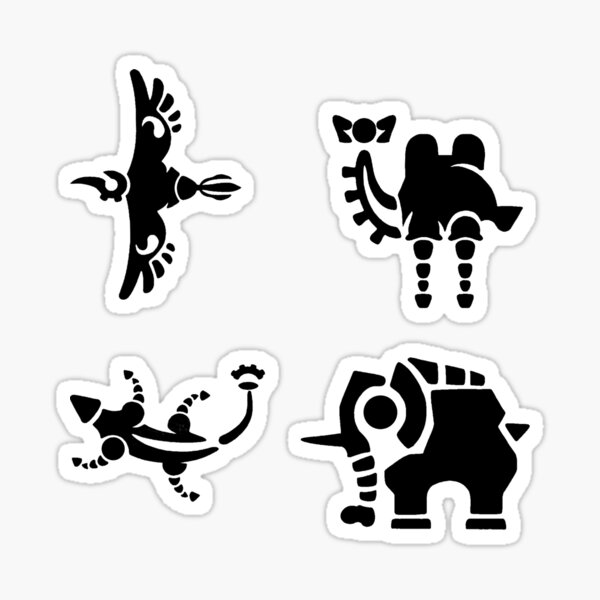 Divine Beasts  Sticker