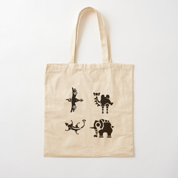 Divine Beasts  Cotton Tote Bag