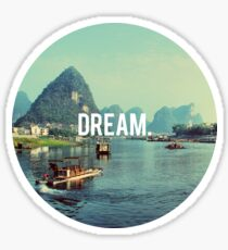 Dream Motivation Nature Sticker