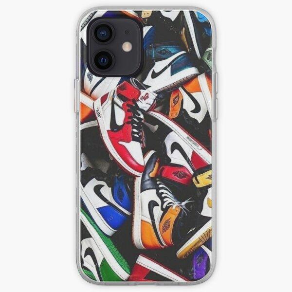 Caja del teléfono Jordan 1s Funda blanda para iPhone