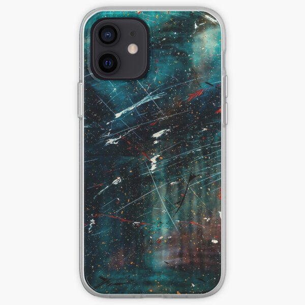 Abstract Paint Digital Art iPhone Soft Case