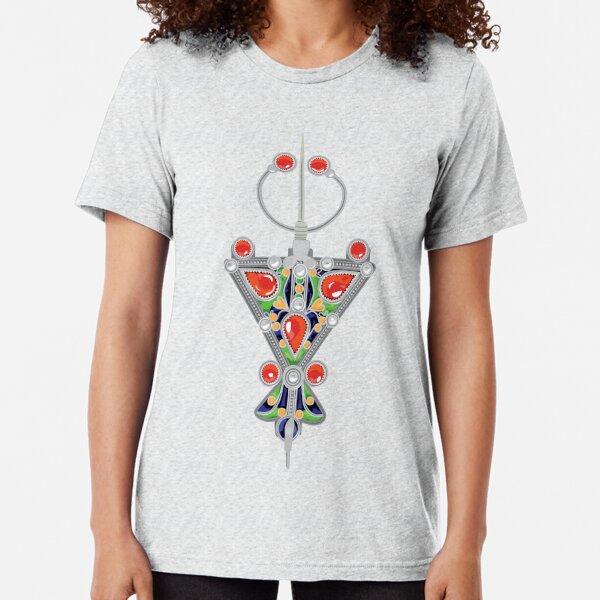 Bijoux kabyle  T-shirt chiné