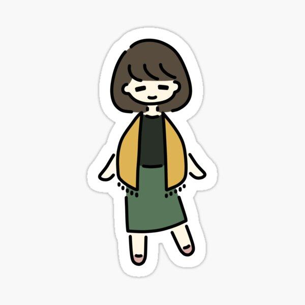 Spring Trilogy: Manami Sticker