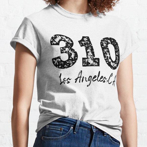 310 Los Angeles Area Code, 310 Area Code, 310 LA, 310 Los Angeles California Classic T-Shirt
