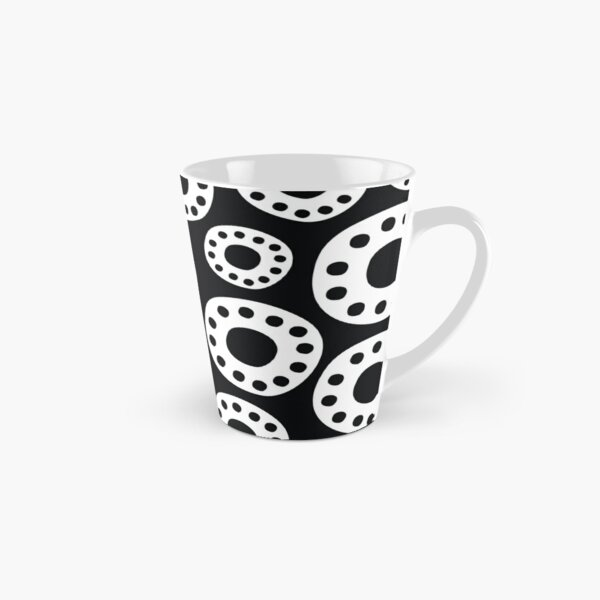 Black and White Gears Tall Mug