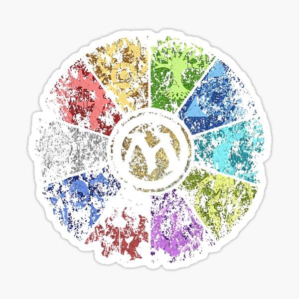 MTG | Faded Guild Wheel Sticker