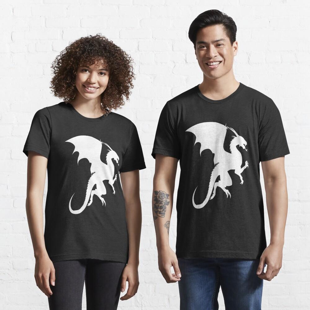 Flying Dragon Shadow White Essential T-Shirt