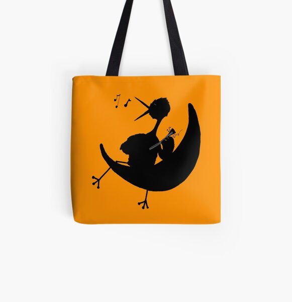 Night bird All Over Print Tote Bag