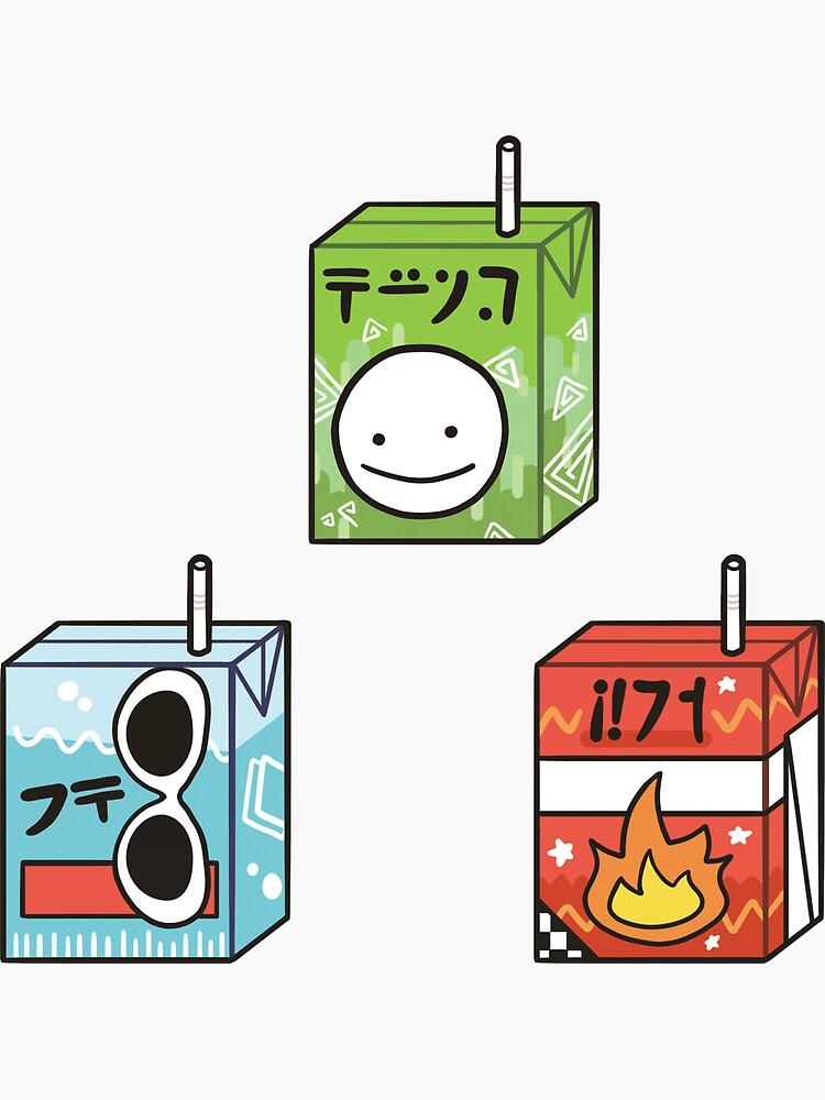 Dream Team Juice Boxes by designsbyaidan
