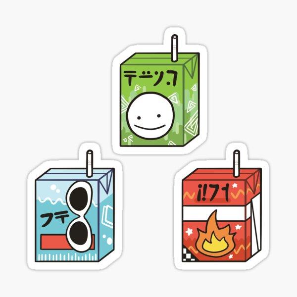 Boîtes à jus Dream Team Sticker