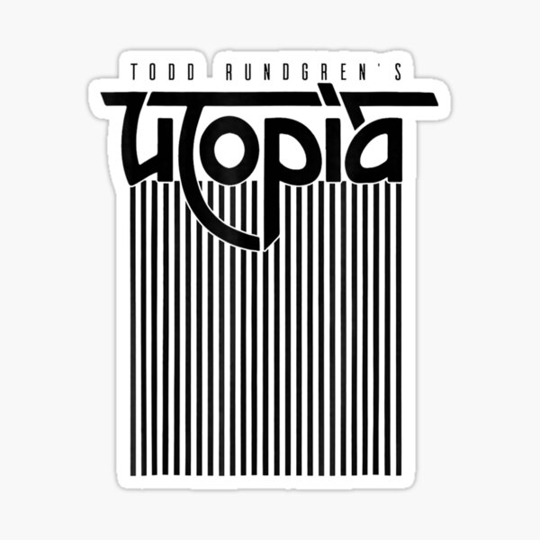 Todd Rundgrens Utopia Lines Tee Officially Licensed Sticker