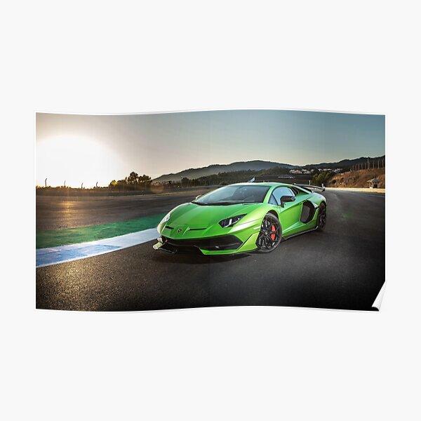 Lamborghini Aventador SVJ Poster