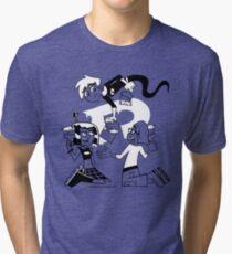 Danny Phantom: Paintbrush Tri-blend T-Shirt