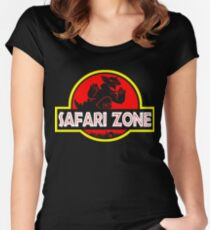 Safari zone Women's Fitted Scoop T-Shirt