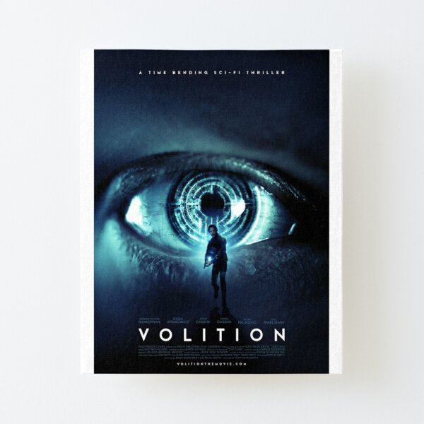 VOLITION POSTER (vertical) Canvas Mounted Print