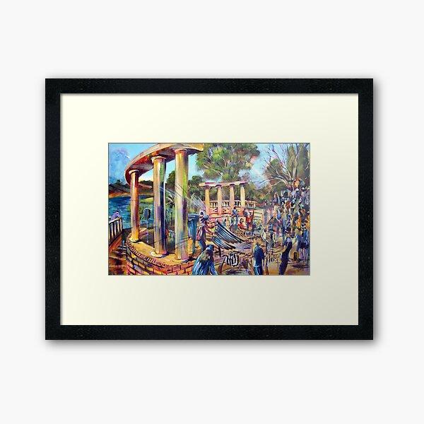 the Big Murimba and the thongaphon Framed Art Print