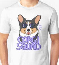 CORGI SQUAD (black tricolor) Unisex T-Shirt