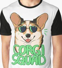 CORGI SQUAD (sable) Graphic T-Shirt
