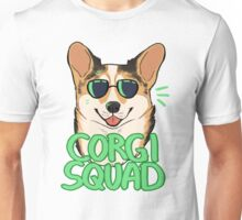 CORGI SQUAD (sable) Unisex T-Shirt