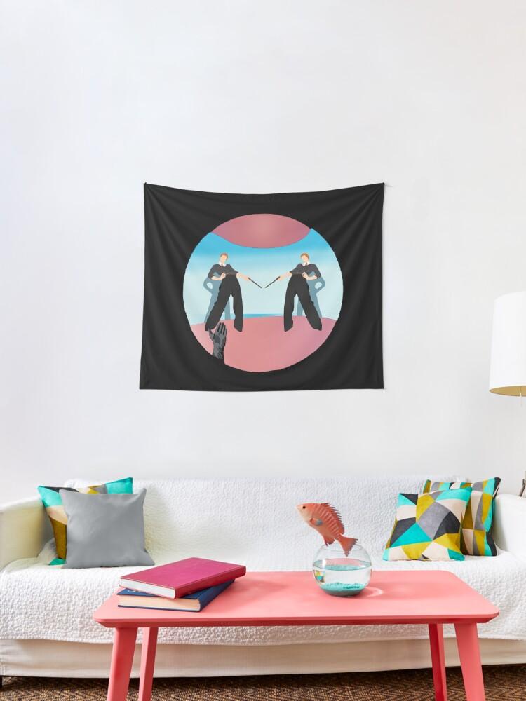 F G Fl Tapestry By Pandabearpie Redbubble