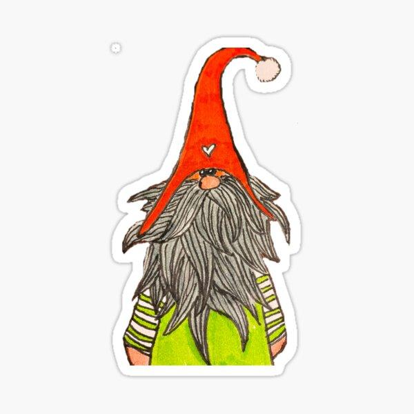 Ron the Gnome Sticker