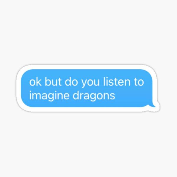 imagine dragons Sticker