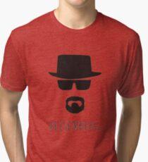 Heisenberg 'Walter White' Tri-blend T-Shirt