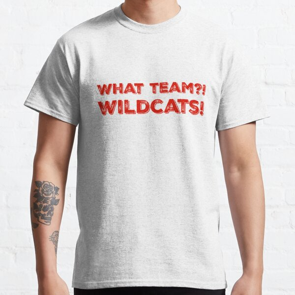 What Team?! WILDCATS! in red Classic T-Shirt