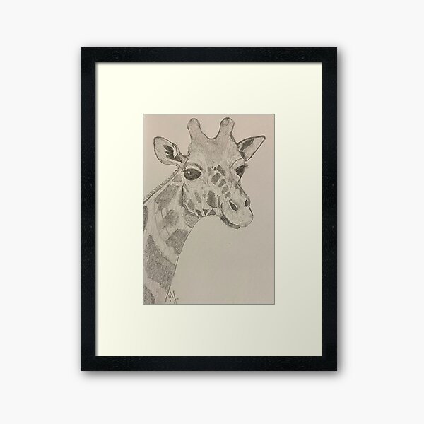 Spotted Happy  Framed Art Print