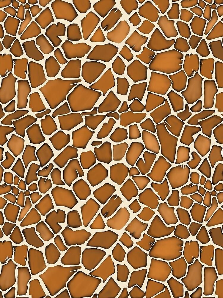 Giraffe Pattern Animal Print by TheFabricSeal