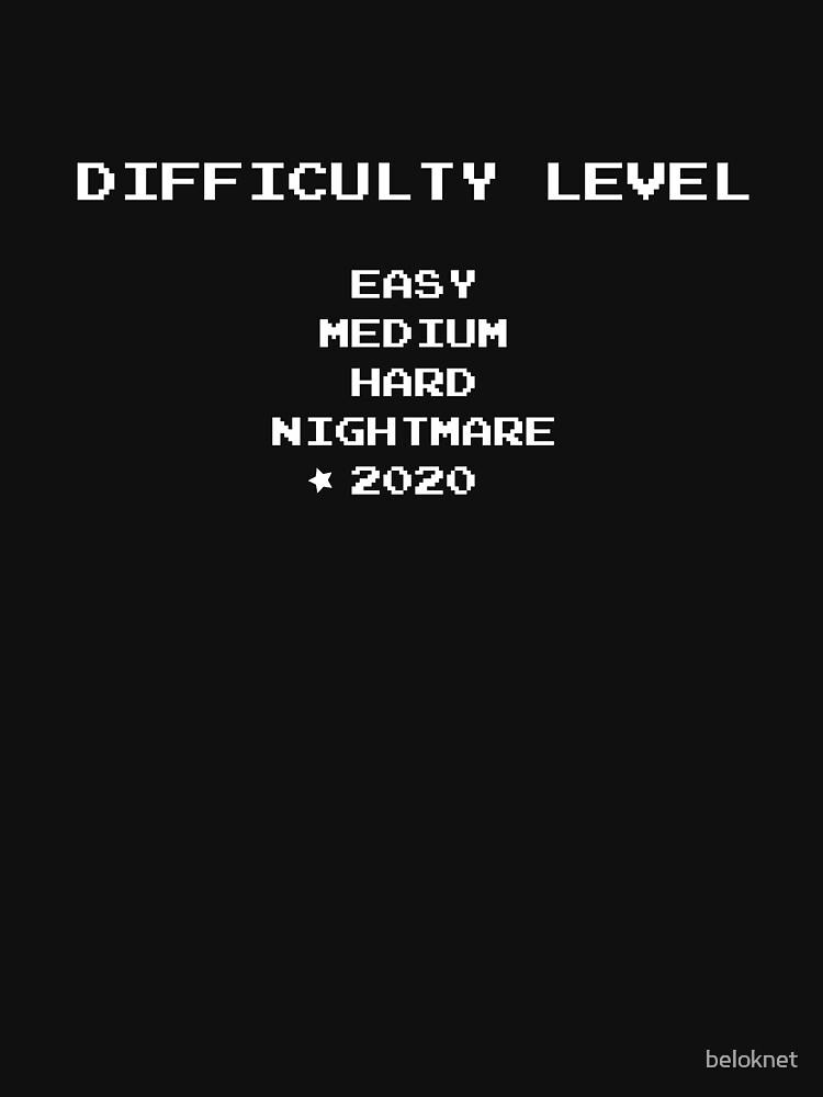 Difficulty level 2020 by beloknet