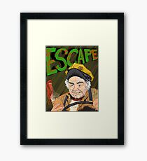 Cabbie's Escape! Framed Print
