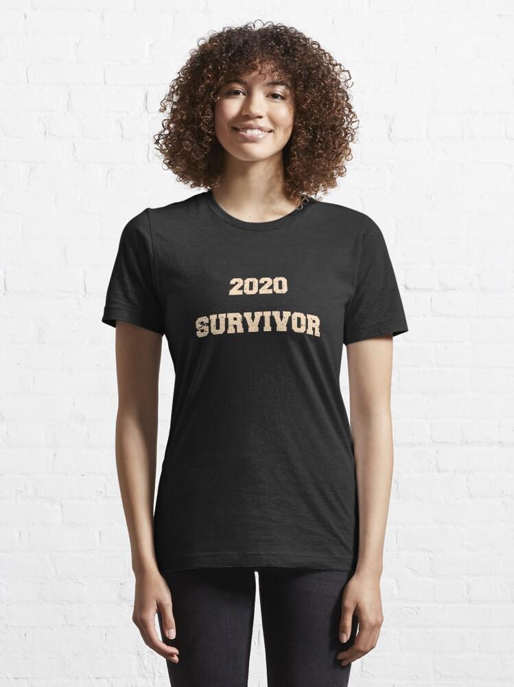 Alternate view of 2020 Survivor Essential T-Shirt
